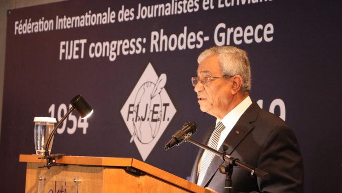 Tijani Haddad, președintele FIJEt World. FOTO Adrian Boioglu