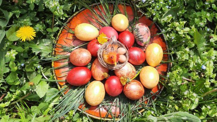 Ouă vopsite de Paște. FOTO FIJET România